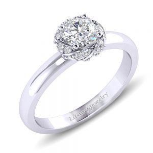 טבעת אירוסין מלניה