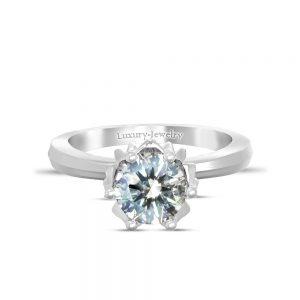 טבעת אירוסין להבה