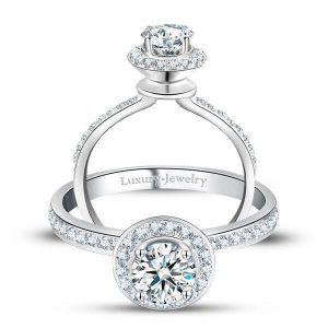 טבעת אירוסין גבוהה