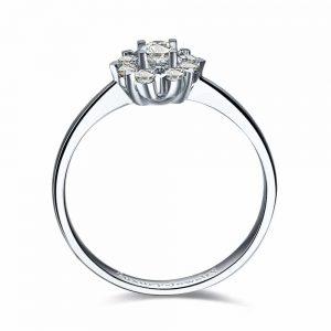 טבעת יהלומים לטבוע באהבה