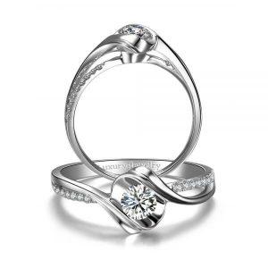 טבעת אירוסין אהבה