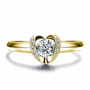 טבעת אירוסין שלהבת