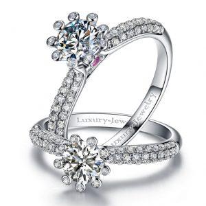 טבעת אירוסין משולבת