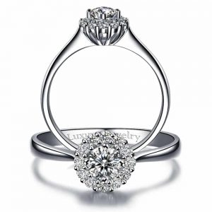 The beautiful life engagement ring