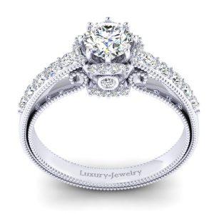 טבעת אירוסין וינטאג' 2019