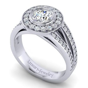 טבעת אירוסין בריידל