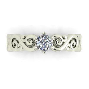 טבעת אירוסין הדסון