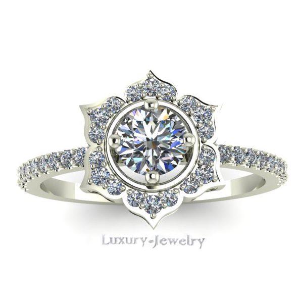 טבעת אירוסין קלאסיק