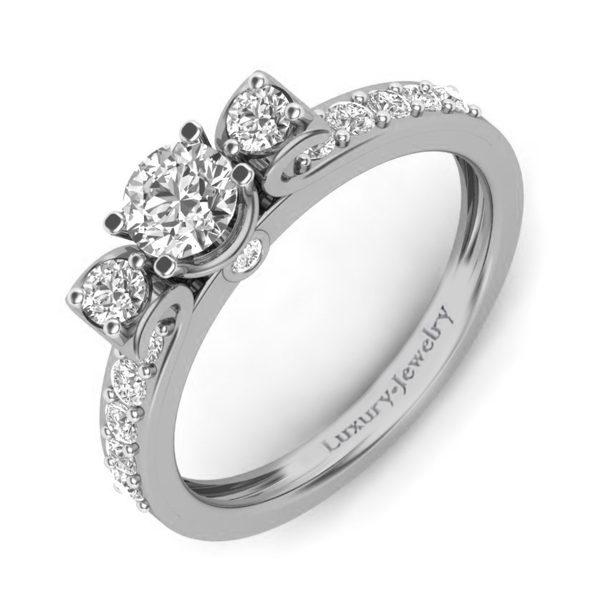 טבעת אירוסין מזרקה