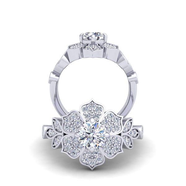 טבעת אירוסין ענבי הגפן