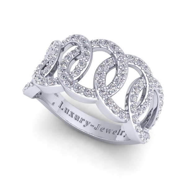 טבעת יהלומים ספרינג