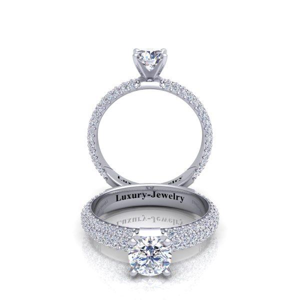 טבעת אירוסין רביד