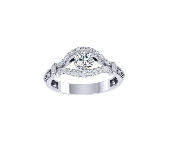 טבעת אירוסין קנדי