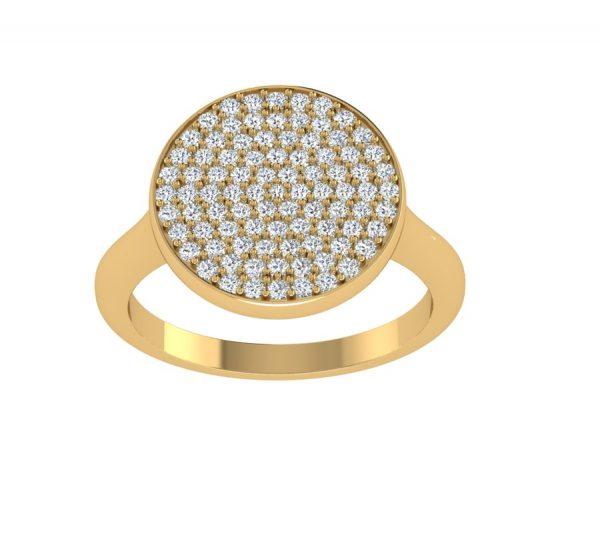 טבעת יהלומים פלאש