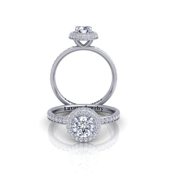 טבעת אירוסין גולד