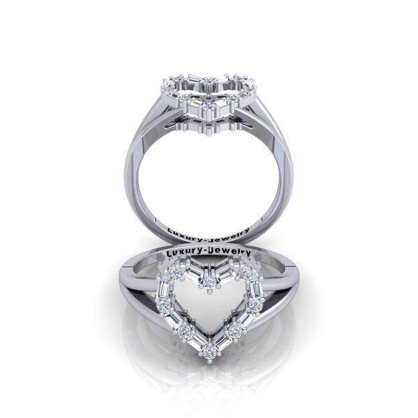 טבעת יהלומים יום האהבה