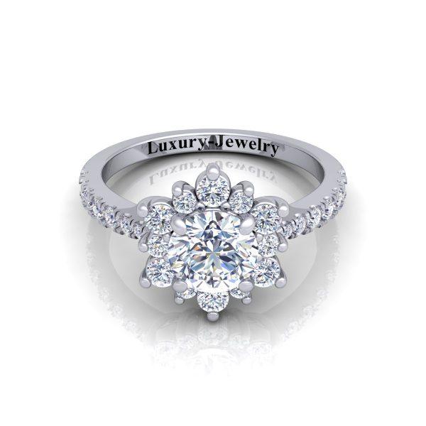 טבעת אירוסין אביבית