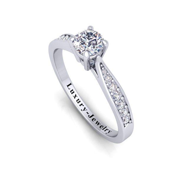 טבעת אירוסין תמר